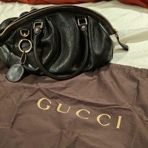Gucci Sukey Guccissima Brown Leather Bag
